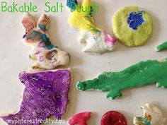 Chasing Kids and Dreams: Bakable Salt Dough