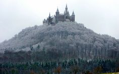 Hohenzollern Castle (Burg Hohenzollern), Germany.    Photo by Rolf Bach.