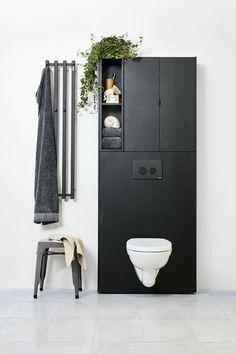 Bathroom Inspo, Bathroom Inspiration, Minimal Bathroom, Smart Storage, Bathroom Furniture, Bauhaus, Man Cave, Minimalism, Toilet