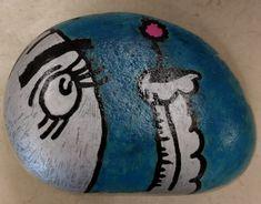 Horton Hears a Who by Dr. Seuss. Elephant. Painted rocks. #DBRLRocks