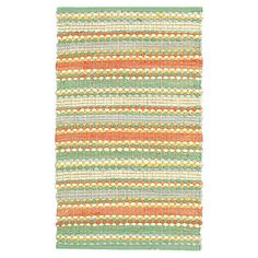 Would be perfect in my dining room! You should see this Dhurry Jade Rug on Daily Sales!