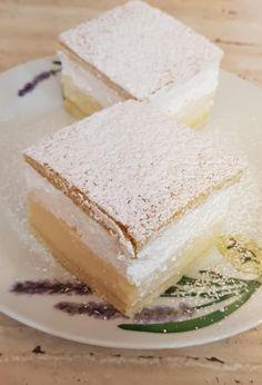 Mit készíthetsz egy kis tejből és tejszínhabból? Bámulatosan finom Felhő krémest! - Bidista.com - A TippLista! Vanilla Cake, Sweet Tooth, Cheesecake, Food And Drink, Mint, Sweets, Cooking, Basket, Cute Baking