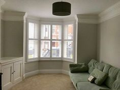 A lovely bay window we did yesterday  63mm in pure white plus tilt rods and midrails.  For a free no obligation quote you can book online http://ift.tt/1ocfyRO or call us on 01858 456419