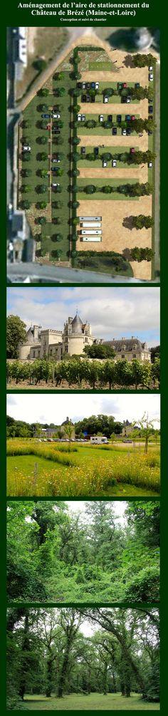 Aire de stationnement du Château de Brézé