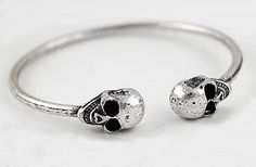 #skull #gift #bracelet $9.99 CLICK HERE FOR MORE :) www.metalangelfashion.com