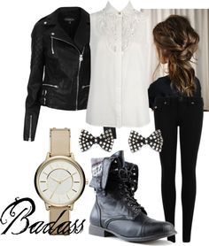 """""""Badass"""" by xrosalie143 ❤ liked on Polyvore"""
