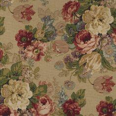 Pergola Floral - Tea - Florals - Fabric - Products - Ralph Lauren Home - RalphLaurenHome.com