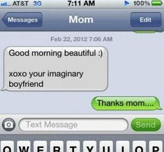 Totally uncalled for, but still a pretty great burn.   24 Texts You Don't Want To Get From Your Parents