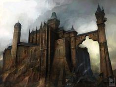 Castle Fantasy castle Castle art Fantasy art