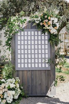 Timeless, Airy + Floral Filled, This Wedding Is What SMP Dreams Are Made of (With images) Diy Wedding Decorations, Ceremony Decorations, Wedding Vendors, Wedding Signs, Weddings, Wedding Seating Cards, Hidden Garden, Summer Wedding, Garden Wedding