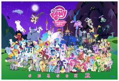 MLP FiM S2 Character Cluster-fun (update 1) by *Blue-Paint-Sea on deviantART