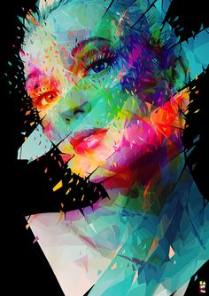 Abstract illustrations by Alessandro Pautasso