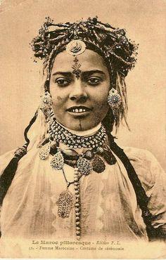 Morocco...Berber woman