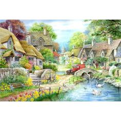 River Cottage - Extra Large jigsaw puzzle