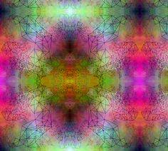 PlasmaTriangles fabric by feebeedee on Spoonflower - custom fabric