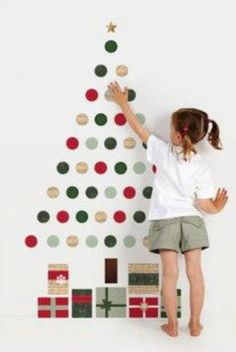 Deck The Halls And Your Walls With These Jolly Christmas Tree Ideas For Holiday Home No Longer Is A Rooted To Its Original Form Th
