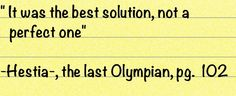 Great Percy jackson quote