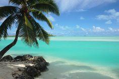 Aitutaki Lagoon, Cook Island