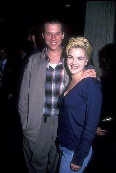 Drew Barrymore & Corin Nemec