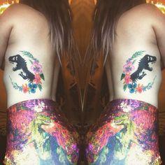 Jurassic Park Dinosaur tattoo
