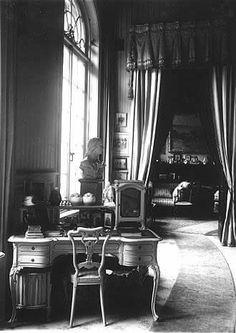 "The Mauve Boudoir at the Alexander Palace,Tsarskoe Selo. ""AL"""