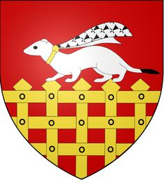 Coat of arms of Saint-Malo (Ille-et-Vilaine, Bretagne, France) drawn by SanchoPanzaXXI for Blazon Project of French-speaking Wikipedia, with Inkscape.