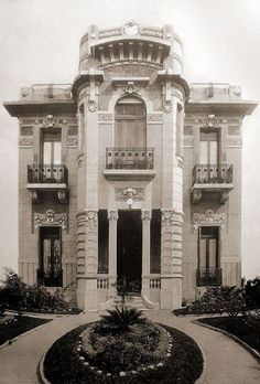 Old Buenos Aires Largest Countries, Countries Of The World, Art Nouveau Arquitectura, Second Empire, Famous Architects, Architect House, Empire Style, Dream House Plans, Historical Architecture