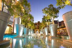 In Melrose Arch Johannesburg this trendy hotel is mi from the city center. African Pride Melrose Arch Autograph Collection Johannesburg South Africa D:Melrose R:Gauteng hotel Hotels Arch Hotel, Hotel Pool, Hotel Spa, Bed And Breakfast, Pride Hotel, Melrose Arch, Hotel Boutique, Exotic Places, Africa Travel