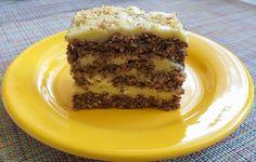 Ez a diós süti liszt nélkül készül, laktóz- és gluténmentes, könnyű és hihetetlenül finom. Tiramisu, Keto, Ethnic Recipes, God, Tiramisu Cake