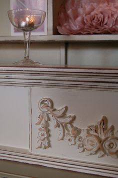 Vintage Mantel/Shelf/Headboard...