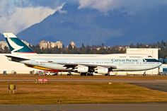 Cathay Pacific 744