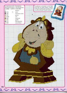 Pendule cross stitch pattern