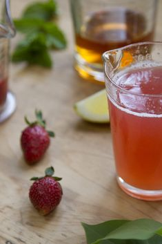 make your own: rhubarb syrup + a springtime cocktail. – Reading My ...