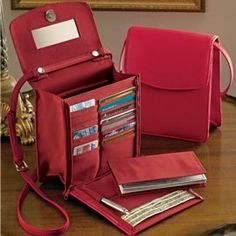 Leather Organizer Handbag Proof You Don T Need A Huge Bag To Be Organized Even While Traveling