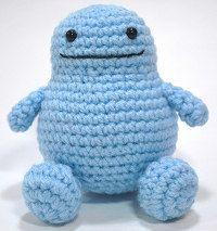 1500 Free Amigurumi Patterns: Binky the Bubbly Monster Free Crochet Pattern