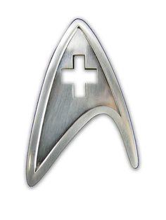 BADGE Star Trek Starfleet Medical Division Badge Replica