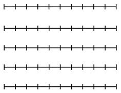 Blank Number Line (for any activity)