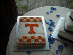 University of Tennessee Groom's Cake By bluebonnetbakeshop on CakeCentral.com