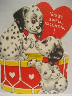 Image result for old valentine card you're swell
