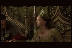 Kissy time - Jonathan Rhys Meyers - Season 4 The Tudors with wifey number 5 Tamzin Merchant