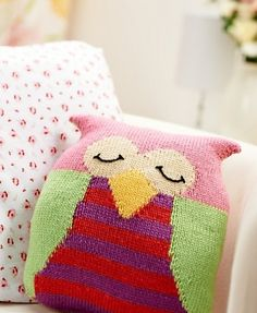 Ossie the owl was designed for LGC Knitting & Crochet magazine by Amanda Berry. Download the pattern for free from our website.