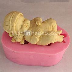 3D Baby Soap Mold  Fondant Mold Cake Decoration Mold 2017 - $6.39