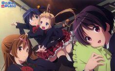 Anime Love, Chunibyo & Other Delusions  Rikka Takanashi Shinka Nibutani Sanae Dekomori Kumin Tsuyuri Wallpaper