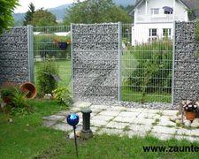 Gabionen und Steinsäulen fachgerecht montiert von Zaunteam - Zäune und Tore von Zaunteam - Zaunteam