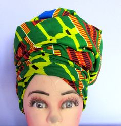 Bright print African supreme Kente Holland wax by ChicAfrica
