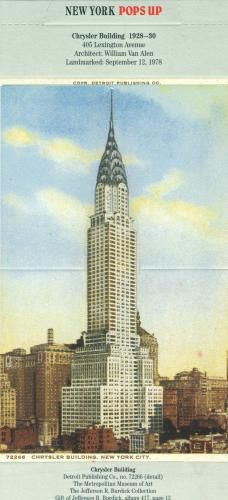 Empire State Building 3D Card