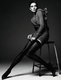 Studio shoot, stool, leg extension, fashion, model, photography, posing.
