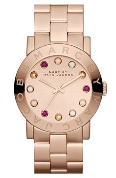 "WANT!!!!!! ""MARC BY MARC JACOBS 'Amy' Bracelet Watch, 37mm available at #Nordstrom"""