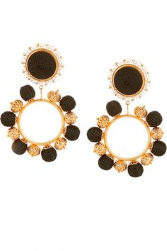 What to pack: Milan: Dolce & Gabbana clip earrings from Net-a-porter.