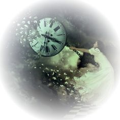 SurrealistMir64_Mika.png ❤ liked on Polyvore featuring backgrounds, tubes, clocks, circle, faded, circular, effect and round